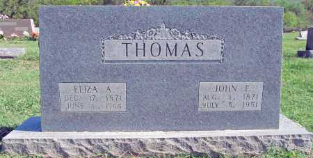 THOMAS, ELIZA A - Madison County, Arkansas | ELIZA A THOMAS - Arkansas Gravestone Photos
