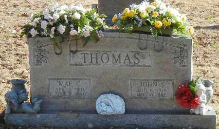 THOMAS, JOHN S - Madison County, Arkansas | JOHN S THOMAS - Arkansas Gravestone Photos