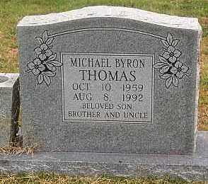THOMAS, MICHAEL BYRON - Madison County, Arkansas | MICHAEL BYRON THOMAS - Arkansas Gravestone Photos