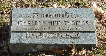 THOMAS, MARLENE ANN - Madison County, Arkansas | MARLENE ANN THOMAS - Arkansas Gravestone Photos