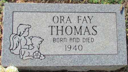 THOMAS, ORA FAY - Madison County, Arkansas | ORA FAY THOMAS - Arkansas Gravestone Photos