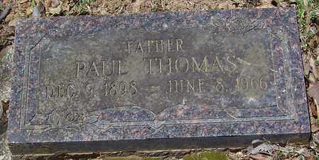 THOMAS, PAUL - Madison County, Arkansas | PAUL THOMAS - Arkansas Gravestone Photos