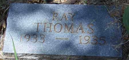 THOMAS, RAY - Madison County, Arkansas | RAY THOMAS - Arkansas Gravestone Photos