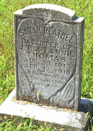 THOMAS, SARAH REATHEL - Madison County, Arkansas   SARAH REATHEL THOMAS - Arkansas Gravestone Photos