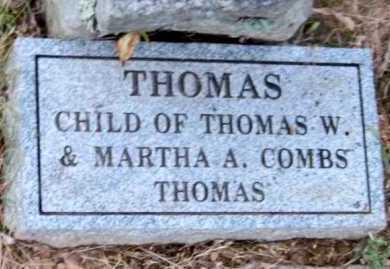 THOMAS, THOMAS - Madison County, Arkansas   THOMAS THOMAS - Arkansas Gravestone Photos