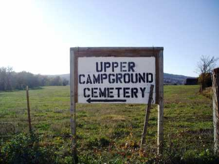 *UPPER CAMPGROUND CEMETERY SIG,  - Madison County, Arkansas |  *UPPER CAMPGROUND CEMETERY SIG - Arkansas Gravestone Photos