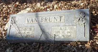 VAN BRUNT, ELIZABETH - Madison County, Arkansas | ELIZABETH VAN BRUNT - Arkansas Gravestone Photos