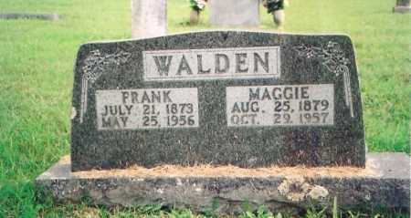 WALDEN, MAGGIE - Madison County, Arkansas | MAGGIE WALDEN - Arkansas Gravestone Photos