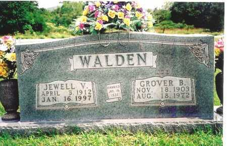 WALDEN, JEWELL V. - Madison County, Arkansas   JEWELL V. WALDEN - Arkansas Gravestone Photos
