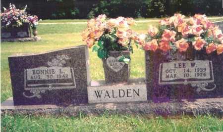 WALDEN, LEE W. - Madison County, Arkansas | LEE W. WALDEN - Arkansas Gravestone Photos
