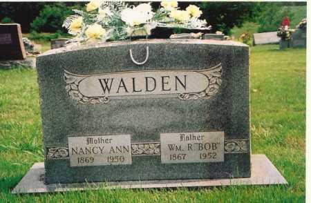 "WALDEN, WILLIAM R. ""BOB"" - Madison County, Arkansas | WILLIAM R. ""BOB"" WALDEN - Arkansas Gravestone Photos"
