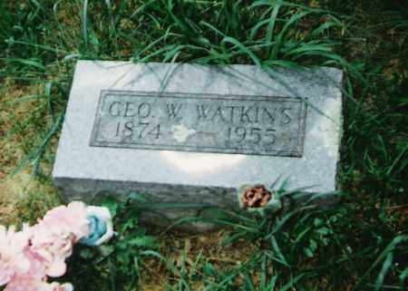 WATKINS, GEORGE W. - Madison County, Arkansas | GEORGE W. WATKINS - Arkansas Gravestone Photos