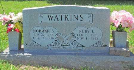 WATKINS, NORMAN S - Madison County, Arkansas | NORMAN S WATKINS - Arkansas Gravestone Photos