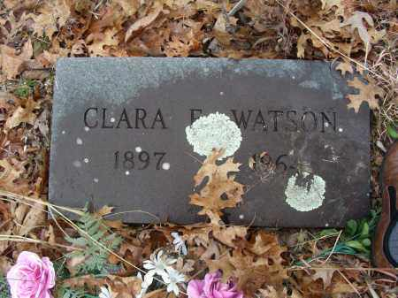 WATSON, CLARA ETHEL - Madison County, Arkansas | CLARA ETHEL WATSON - Arkansas Gravestone Photos