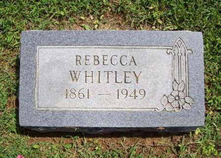 WHITLEY, REBECCA - Madison County, Arkansas | REBECCA WHITLEY - Arkansas Gravestone Photos