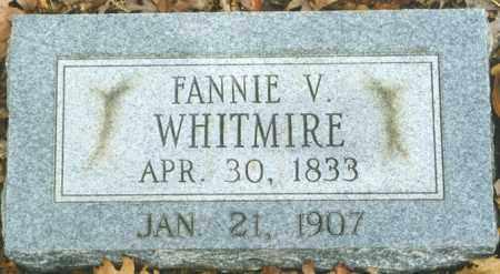 "GAINES WHITMIRE, FRANCES VICTORIA ""FANNIE"" - Madison County, Arkansas | FRANCES VICTORIA ""FANNIE"" GAINES WHITMIRE - Arkansas Gravestone Photos"