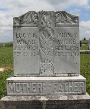 WILKS (VETERAN CSA), JOHN M. - Madison County, Arkansas | JOHN M. WILKS (VETERAN CSA) - Arkansas Gravestone Photos
