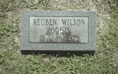 ROGERS, REUBEN WILSON - Madison County, Arkansas   REUBEN WILSON ROGERS - Arkansas Gravestone Photos
