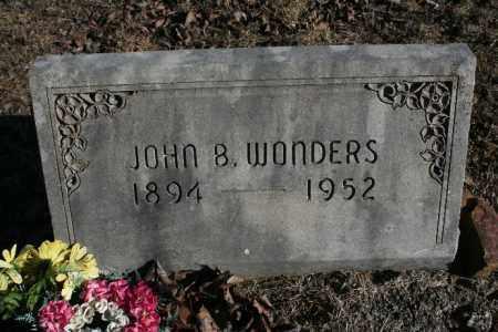 WONDERS, JOHN B. - Madison County, Arkansas | JOHN B. WONDERS - Arkansas Gravestone Photos