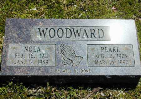 WOODWARD, PEARL - Madison County, Arkansas | PEARL WOODWARD - Arkansas Gravestone Photos