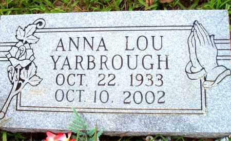 AUSLAM YARBROUGH, ANNA LOU - Madison County, Arkansas | ANNA LOU AUSLAM YARBROUGH - Arkansas Gravestone Photos
