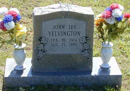 YELVINGTON, JOHN LEO - Madison County, Arkansas | JOHN LEO YELVINGTON - Arkansas Gravestone Photos