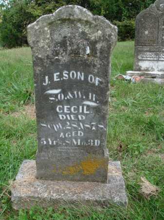 CECIL, J. E. - Madison County, Arkansas   J. E. CECIL - Arkansas Gravestone Photos