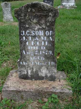 CECIL, J. C. - Madison County, Arkansas | J. C. CECIL - Arkansas Gravestone Photos
