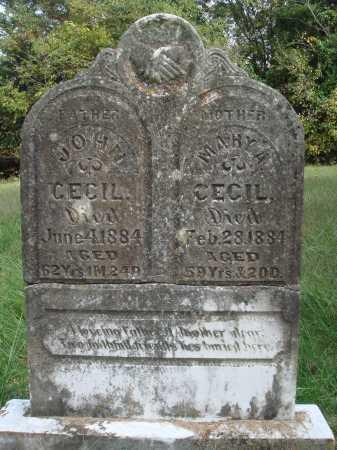 CECIL, MARY A. - Madison County, Arkansas | MARY A. CECIL - Arkansas Gravestone Photos
