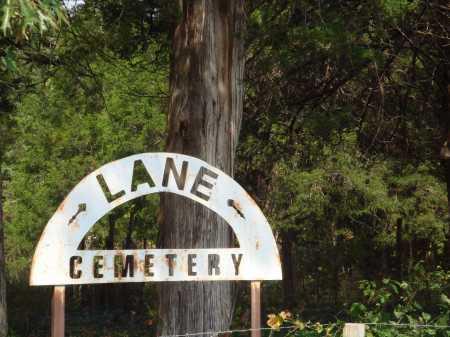 *LANE CEMETERY SIGN,  - Madison County, Arkansas    *LANE CEMETERY SIGN - Arkansas Gravestone Photos