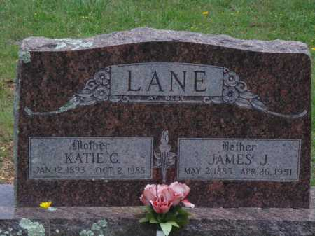 LANE, JAMES J. - Madison County, Arkansas | JAMES J. LANE - Arkansas Gravestone Photos