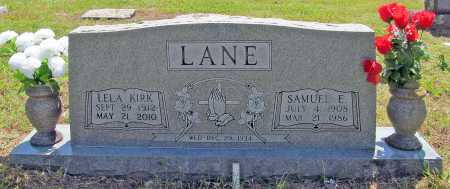 LANE, SAMUEL E - Madison County, Arkansas | SAMUEL E LANE - Arkansas Gravestone Photos