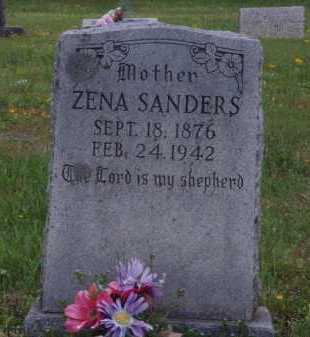SANDERS, ZENA - Madison County, Arkansas | ZENA SANDERS - Arkansas Gravestone Photos