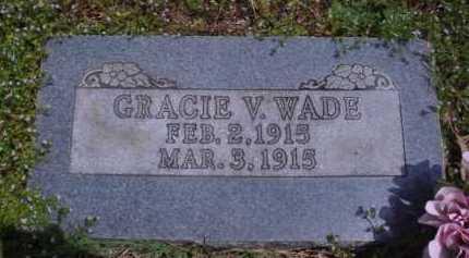 WADE, GRACIE V. - Madison County, Arkansas | GRACIE V. WADE - Arkansas Gravestone Photos