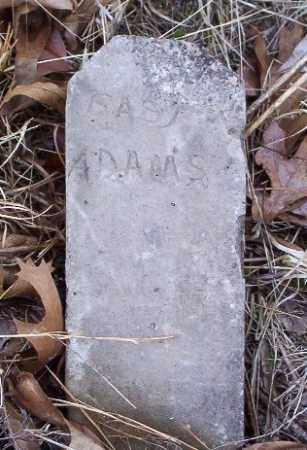 ADAMS, BABY - Marion County, Arkansas | BABY ADAMS - Arkansas Gravestone Photos