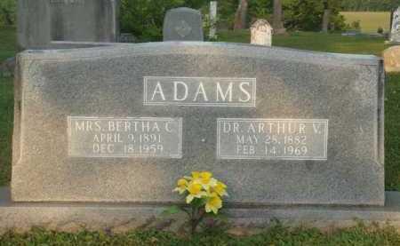 ADAMS, BERTHA C. - Marion County, Arkansas | BERTHA C. ADAMS - Arkansas Gravestone Photos