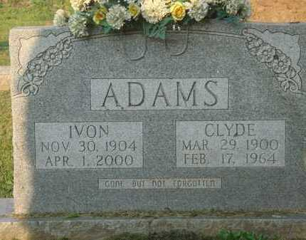 ADAMS, CLYDE - Marion County, Arkansas | CLYDE ADAMS - Arkansas Gravestone Photos