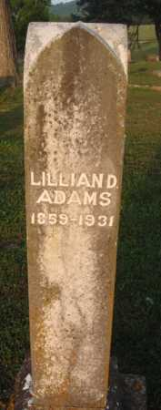 ADAMS, LILLIAN D. - Marion County, Arkansas | LILLIAN D. ADAMS - Arkansas Gravestone Photos
