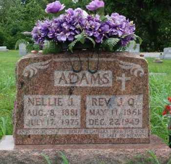 ADAMS, NELLIE J. - Marion County, Arkansas | NELLIE J. ADAMS - Arkansas Gravestone Photos