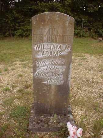 ADAMS, WILLIAM MARTIN - Marion County, Arkansas | WILLIAM MARTIN ADAMS - Arkansas Gravestone Photos