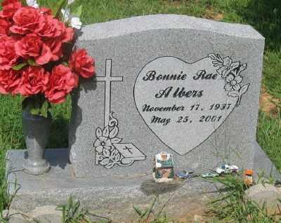 ALBERS, BONNIE RAE - Marion County, Arkansas | BONNIE RAE ALBERS - Arkansas Gravestone Photos
