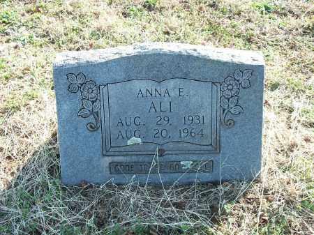 ALI, ANNA E. - Marion County, Arkansas | ANNA E. ALI - Arkansas Gravestone Photos