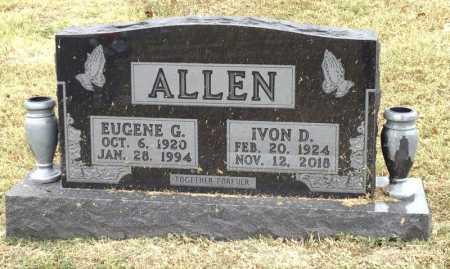 ALLEN, EUGENE G. - Marion County, Arkansas   EUGENE G. ALLEN - Arkansas Gravestone Photos