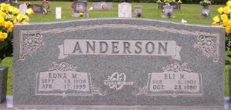 HAMILTON ANDERSON, EDNA M. - Marion County, Arkansas | EDNA M. HAMILTON ANDERSON - Arkansas Gravestone Photos