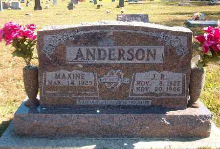 ANDERSON, J. R. - Marion County, Arkansas | J. R. ANDERSON - Arkansas Gravestone Photos
