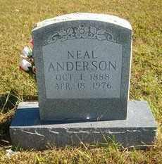 ANDERSON, NEAL - Marion County, Arkansas   NEAL ANDERSON - Arkansas Gravestone Photos