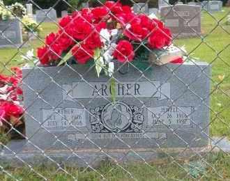 ARCHER, JEWELL - Marion County, Arkansas | JEWELL ARCHER - Arkansas Gravestone Photos