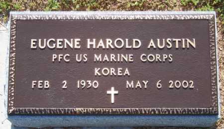 AUSTIN (VETERAN KOR), EUGENE HAROLD - Marion County, Arkansas | EUGENE HAROLD AUSTIN (VETERAN KOR) - Arkansas Gravestone Photos