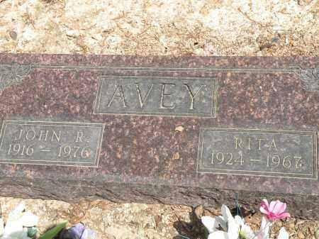 AVEY, JOHN R. - Marion County, Arkansas   JOHN R. AVEY - Arkansas Gravestone Photos