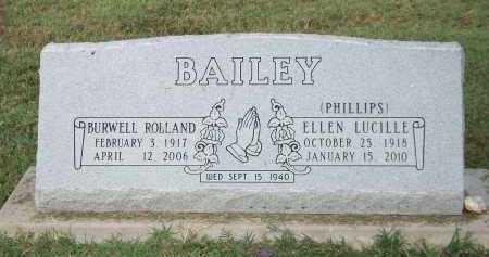 BAILEY, ELLEN LUCILLE - Marion County, Arkansas | ELLEN LUCILLE BAILEY - Arkansas Gravestone Photos